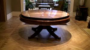 Expanding Table by Expanding Round Dining Room Table 16931