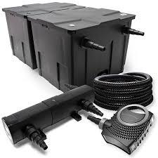 Haus F 20000 Euro Kaufen Teichfilter Set Aus 60000l Filter Uvc Teichklärer Mit 24w 80w