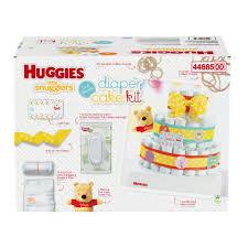 huggies little snugglers diaper cake kit toys