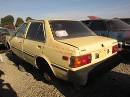 old nissan coupe junkyard find 1983 nissan sentra sedan the truth about cars
