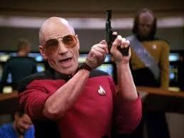 Meme Generator Star Trek - picard pistol memes star trek blank template imgflip