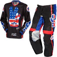 2015 Ufo Vintage Kit Combo Black Ufo And Motocross