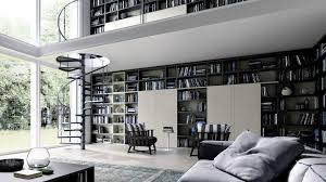 Interior Design  Home Library Interior Design Decoration Ideas - Design home library