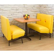 Dining Room Booth Seating by Retro 70s Diner Booth Sets Retro Furniture Retroplanet Com