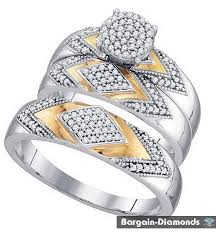 Ebay Wedding Rings by Wedding Ring Sets For Bride And Groom Inexpensive Wedding Rings