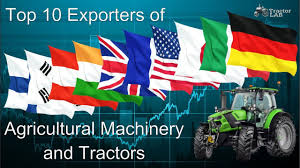 Flag Manufacturers Top 10 Exporters Of Tractors Top 10 Countries Tractors