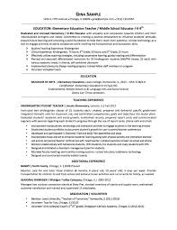 resume examples 2013 resume samples chicago resume expert elementary ed sample