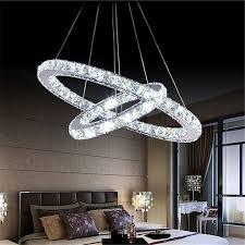 Led Chandelier Modern Diy Design Led Chandelier Light Fixture Circle Round 2