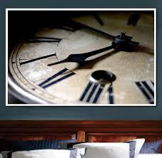 modern art clock painting diy 5d diamond stitch round 3d diamond