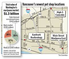 Liquor Store Floor Plans by Vancouver U0027s Marijuana Industry Growing Like A Weed The Columbian