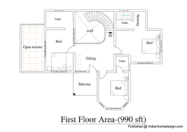 Floor Plans Of Homes Prepossessing 20 Home Plan Design India Inspiration Design Of