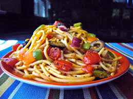 spaghetti salad what about this