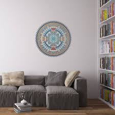 indian spiritual mandala wall art sticker by vinyl revolution indian spiritual mandala wall art sticker