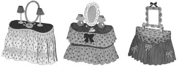 Vanity Skirts The Vintage Pattern Files 1940 U0027s Sewing Dressing Table Skirts