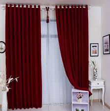 Lace For Curtains Flirty Red Living Room Curtains Ideas Abpho