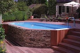 small yard small pool