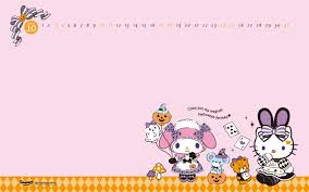 Hello Kitty Halloween Fabric by Cute Kawaii Blog Everything Kawaii Cute