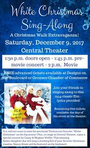 christmas walk geneseo chamber of commerce and tourism center