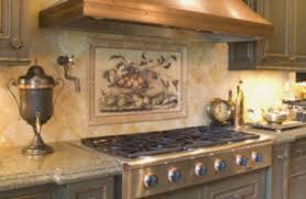 Murals For Kitchen Backsplash Impressive Image Of Tuscan Kitchen Backsplash Tile Murals Kitchen