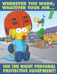 simpsons poster posters personal protective equipment ppe