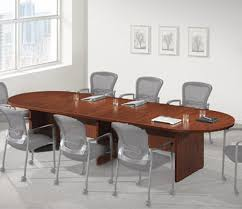 Racetrack Boardroom Table Ndi Office Furniture Racetrack Conference Table 16 U0027 L Pl16kit