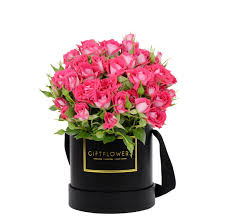 flowers gift mini roses with flower box gift flowers sg inspiration