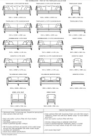 length of standard couch jackson ii sofa by robert michael furniture smart size
