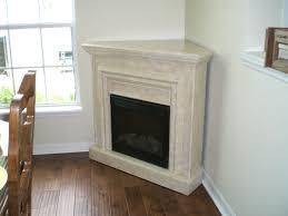 corner fake fireplace 10889