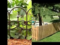Diy Garden Fence Ideas Amusing Small Garden Fence Ideas Of Fencing