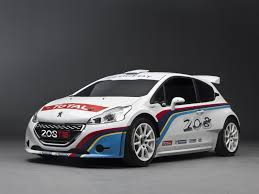 peugeot world meeke bouffier and breen tested peugeot 208 t16 on the loose