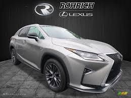 lexus is f sport atomic silver 2017 atomic silver lexus rx 350 f sport awd 120422965 gtcarlot
