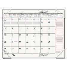 exellent desk pad calendar 2017 c in decor
