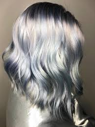 coloring hair gray trend name ghosted hair color is trending for spring 2018 allure