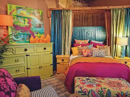 Colorful Bedrooms Bohemian Bedroom Bedroom Shab Chic Bohemian Room With White