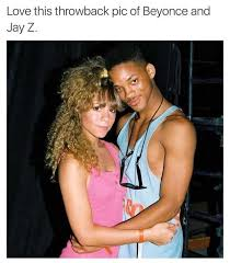 Jay Z Meme - dopl3r com memes love this throwback pic of beyonce and jay z