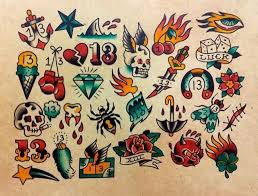 friday the 13 traditional flash tattoos graphics images
