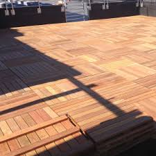 deck tiles hardwood deck tiles ipe cumaru u0026 mahogany 2x2 to
