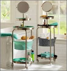 Bathroom Storage Cart Bathroom Cart On Wheels 2 Bathroom Storage Cart With Wheels Home