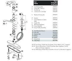 kohler kitchen faucet parts diagram kitchen sink faucet parts kohler kitchen sink faucet parts