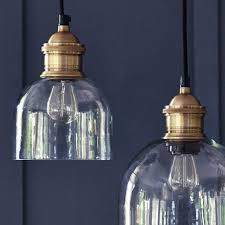 Glass Pendant Lighting For Kitchen Islands Best 25 Glass Pendant Light Ideas On Pinterest Glass Lights
