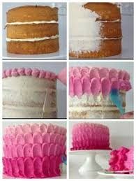 Cake Icing Design Ideas How To Frost A Rose Cake Rose Cake Frosting And Rose