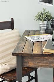 easy diy farmhouse table how to get a farmhouse style finish farmhouse style tutorials and