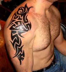 3d welsh tribal tattoos design idea for men and women
