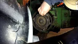 how to adjust john deere a b d and g clutch youtube