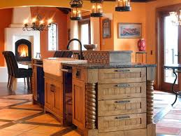 southwest style kitchen cabinets cozy country kitchen designs