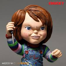 mezco child u0027s play stylised good guys chucky figure mad about horror