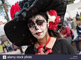 catrina costume a woman dressed in la calavera catrina costume for the day