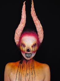 Monster Faces For Halloween Cool And Incredible Monster Makeup Dailydistraction