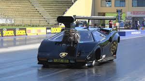 lamborghini vs smart car lamborghini blown v8 drag car alf sciacca racing 7 27 191 mph