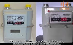 prepaid gas card qianwei krom gas meter ic card gas meter remote reading gas